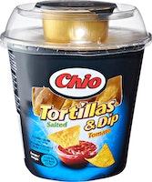 Chio Salted Tortillas & Tomato Dip