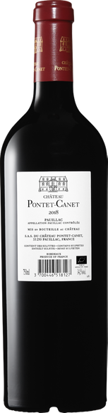 Château Pontet-Canet Pauillac AOC 2018 Zurück