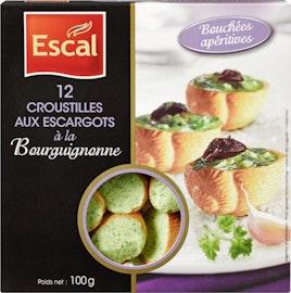 Lumache alla borgogna Escal