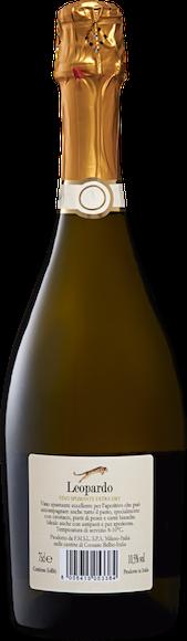 Leopardo Vino Spumante extra dry Arrière