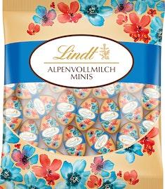 Ovetti al latte intero alpino in edizione Fiori Lindt