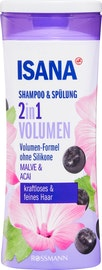 Shampoo & Balsamo 2 in 1 Volume Malva & Açaí ISANA