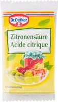 Acide citrique Dr. Oetker