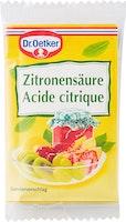 Acido citrico Dr. Oetker