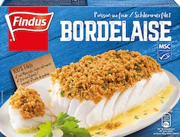 Poisson au four Bordelaise Findus