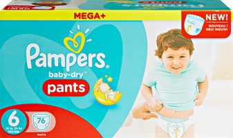 Pampers Baby-Dry Pants Extra Large