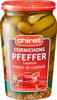 Cornichons au piment de Cayenne Chirat