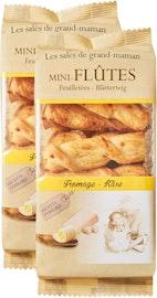 Mini-Flûtes Blätterteig