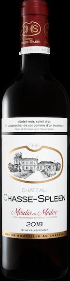 Château Chasse-Spleen Moulis-en-Médoc AOC Vorderseite