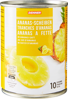Tranches d'ananas Denner
