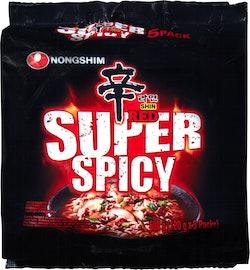 Tagliatelle di ramen Shin Red Super Spicy Nongshom