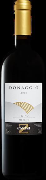 Zanini Donaggio Merlot del Ticino DOC Vorderseite