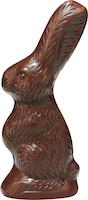 Coniglietto di cioccolato fondente