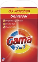Gama Waschpulver 3in1 Universal