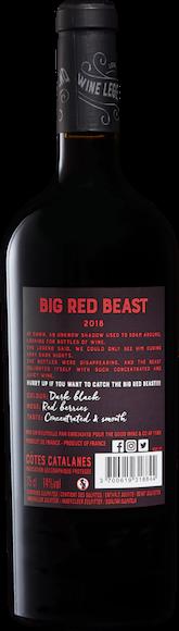 Big Red Beast Côtes Catalanes IGP Zurück