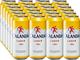 Birra lager Calanda