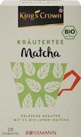 KingSC Bio Kräutertee Matcha