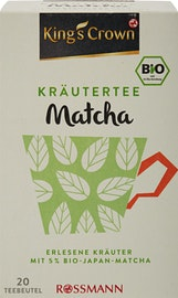 KingSC Tisane aux herbes bio Matcha