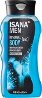 Gel doccia 3in1 Body ISANA Men