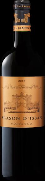 Blason d'Issan 2ème vin de Château d'Issan Margaux AOC Vorderseite