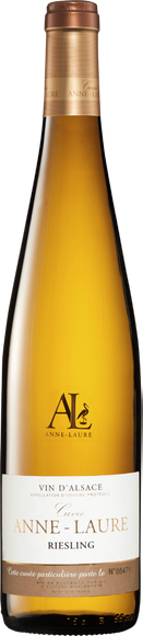 Cuvée Anne-Laure Riesling Vin d'Alsace AOP Vorderseite