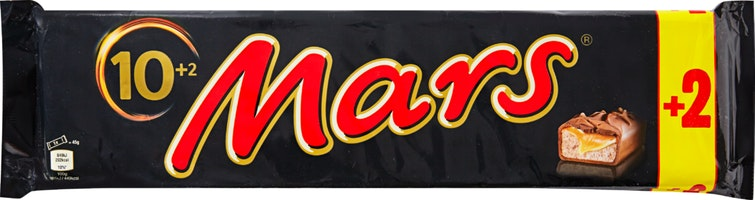 Barres de chocolat Mars