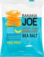 Banana Joe Salzige Bananen Chips Sea Salt
