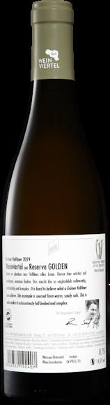 Grüner Veltliner Golden Weinviertel DAC Reserve Zurück