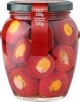 Peperoncini ciliegia ripieni di formaggio Agrimonti