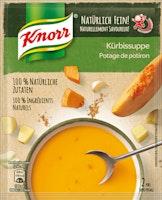 Potage de potiron Knorr