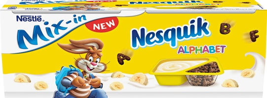 Nestlé Bananenjoghurt Mix-in