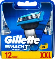 Lamette da barba Mach3 Turbo Gillette