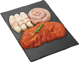 Piatto di carne alla griglia BBQ Bigler