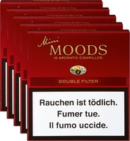 Cigarillos Double Filter Dannemann Mini Moods