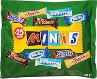 Mixed Minis Schokoladenriegel