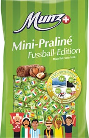 Mini-praliné Latte edizione calcio Munz