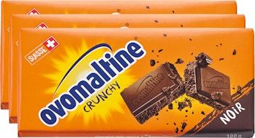 Tablette de chocolat Noir Ovomaltine Crunchy Wander