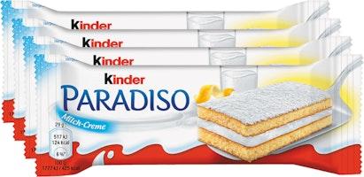 Barrette al latte Kinder Paradiso Ferrero