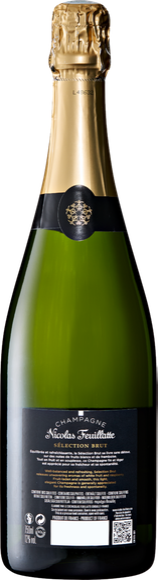 Nicolas Feuillatte Sélection brut Champagne AOC Arrière