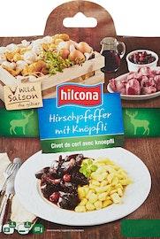 Hilcona Hirschpfeffer mit Knöpfli