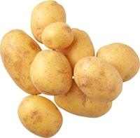 Mini pommes de terre en corbeille