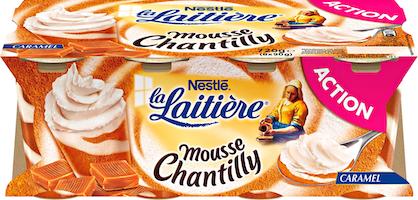 Nestlé La Laitière Mousse Chantilly
