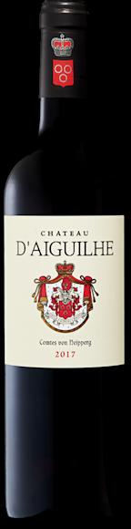 Château d'Aiguilhe Castillon Côtes de Bordeaux AOC De face