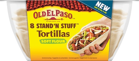 Old El Paso Stand 'n Stuff™ Soft Tortillas
