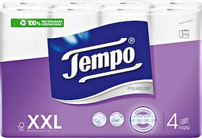 Tempo Toilettenpapier Premium weiss