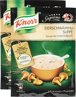 Zuppa ai gallinacci Suprême Knorr
