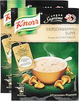 Knorr Suppe Suprême Eierschwämmli