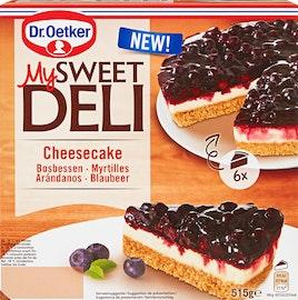 Dr. Oetker My Sweet Deli Cheesecake mit Blaubeeren