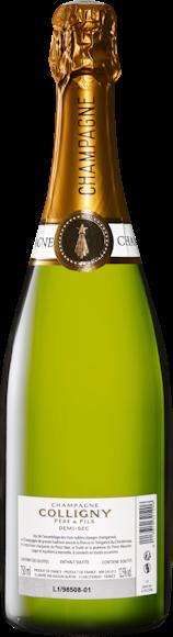 Colligny demi-sec Champagne AOC Zurück