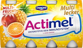 Yogurt da bere Multifrutta Actimel Danone